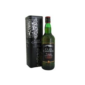 CLAN CAMPBELL Scotch whisky 40% 70CL
