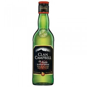 CLAN CAMPBELL Scotch whisky 40% 50CL