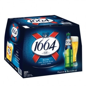 1664 Bière blonde - Bouteille - Alc. 5,5% vol.