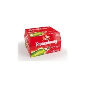 KRONENBOURG - ORIGINAL - BIÈRE BLONDE - BOUTEILLE - ALC. 4,2% VOL. X26