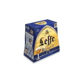 LEFFE - RITUEL - BIÈRE BELGE - ALC 9%VOL X6