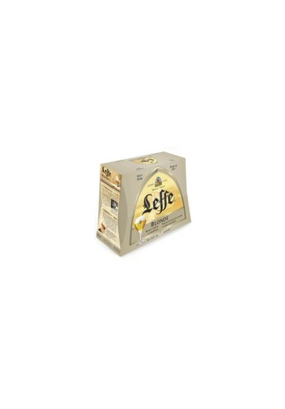 LEFFE - BIÈRE BLONDE - BOUTEILLE - ALC. 6,6% VOL. 8X25CL